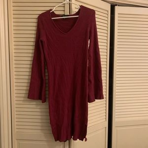 Lulu's Long Sleeve Dress